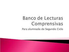 Banco de Lecturas Comprensivas 2 ciclo  | PTYAL