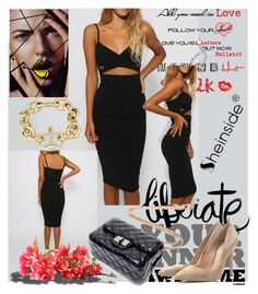 """""""Sheinside II/2"""" by unkic-edina ❤ liked on Polyvore featuring Gianvito Rossi and Sheinside"""