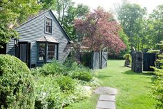 A Garden for All Seasons - Home Tours 2014 - Lonny Wonderful post/information. Whole house + outdoor spaces lovely