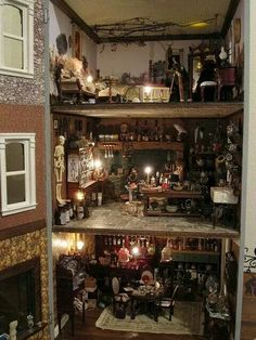 Witches dollhouse