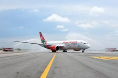 Kenya Airways flew it's new B788 Dreamliner from Nairobi to Bangkok and on to Guangzhou and Hong Kong. The Nairobi to Bangkok service will operate daily and connect to Guangzhou on Mondays, Wednesdays, Fridays and Sundays, and to Hong Kong on Tuesdays, Thursdays and Saturdays.