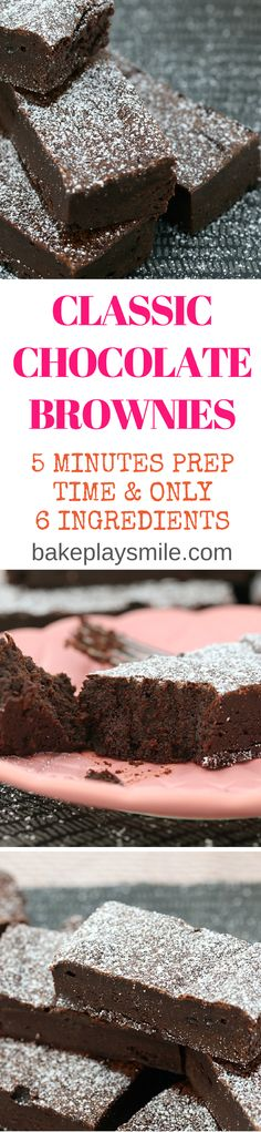 5 Minute Chocolate Brownies are so rich and delicious… (easy desert recipes no egg) Cantaloupe Recipes, Radish Recipes, Cheddarwurst Recipe, Keks Dessert, Frangipane Recipes, Mulberry Recipes, Spagetti Recipe, Szechuan Recipes, Recipes