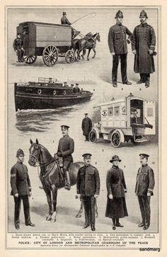 City of London Police 1914