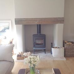Sitting room hearth