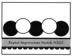 Repeat Impressions Sketch #O213. Play along with our WHAT IF? Wednesday Sketch Challenges for your chance to win a Repeat Impressions gift certificate! - www.thehousethatstampsbuilt.com - #repeatimpressions #rubberstamps #rubberstamping #cardmaking