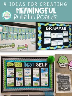 Teaching Fourth: Ideas for Creating Meaningful Bulletin Boards: Motivational Posters Motivational Bulletin Boards, Easy Bulletin Boards, Reading Bulletin Boards, Motivational Posters, Teacher Organization, Organizing, Teaching Posters, Student Motivation, Graphic Organizers