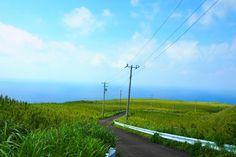 Nature on Aogashima island