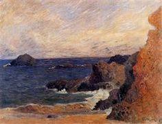 Coastal landscape - Paul Gauguin · 1886