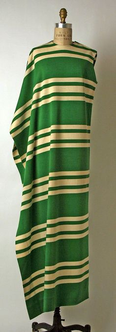 Tunic, Madame Grès (Alix Barton), 1967, French, wool