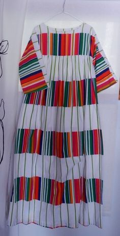 What would a Cantabria muumuu look like? Quirky Fashion, Bold Fashion, Fashion Prints, Retro Fashion, Vintage Fashion, Fashion Design, Textile Design, Fabric Design, Marimekko Dress