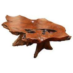 Californian Redwood Burl Coffee Table