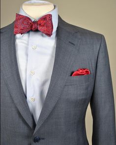 Wearing a bowtie is a statement.