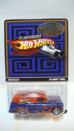 "**Hot Wheels RLC13 "">>55 Chevy panel<<"" only 4,000 Produced** Real Riders"