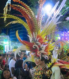 bird costume Chingay Singapore|curlytraveller.com