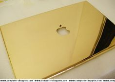 Golden Apple Macbook Pro