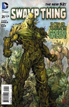 Swamp Thing (DC Comics) cover by Jesus Saiz Release DateWed, November 2013 Comic Book Covers, Comic Books Art, Comic Art, Book Art, Héros Dc Comics, Dc Comics Characters, Marvel Dc, Hq Dc, Justice League Dark
