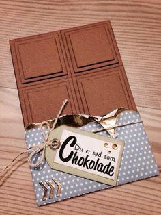 Chokolade... (Scrapper.dk)