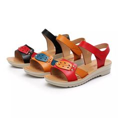 db2e2072e097 High-quality Hook Loop Slip Resistant Wedges Causal Sandals - NewChic Mobile