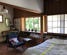 Japan Interior, Interior Architecture, Interior Design, Japanese House, House Rooms, Traditional House, Room Decor Bedroom, Decorating Your Home, Furniture Design