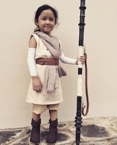 #DIY Rey Starwars Costume