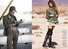 military inspired fashion | Best of March 2010 Magazine Fashion Spreads | Style Amor
