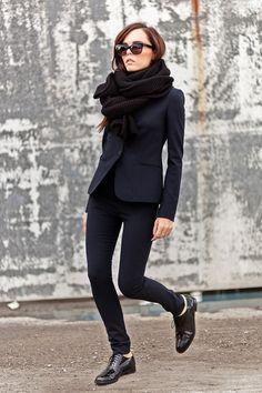 sharp tailoring. Evangelie in Athens. #StyleHeroine