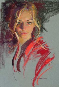 ,,Портрет  девушки,,