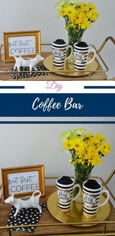 DIY Coffee Bar in pa