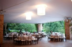 Chicago Botanic Gardens Wedding  Our reception space - McGinley Pavilion