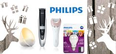 win a Philips gift set, includes: Wake-up light, value of $ 69 a Philips Scene switch light bulb worth $29. beard trimmer 9000 worth $104 Satinelle Advanced Epilator valued at $119  ~