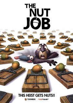 The Nut Job 11x17 Movie Poster (2014)