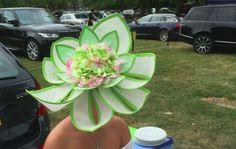 Classic Flower #hats #traceyghats #traceyg #royalascot #raceshats #weddinghats