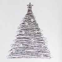 Scribble Tree Christmas Cards