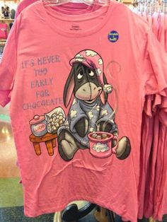 Disney Eeyore Chocolate Pattern Ladies Nightshirt One Size Fits Most NEW… Eeyore Pictures, Winnie The Pooh Pictures, Winnie The Pooh Quotes, Disney Pjs, Disney Outfits, Disney Clothes, Comfy Casual, Casual Chic, Eeyore Quotes