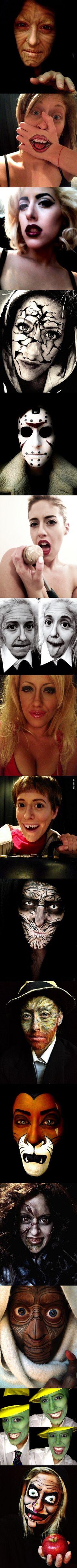 Crazy Makeup Transformations!