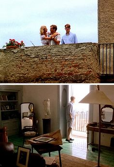 The Talented Mr. Ripley - Scenes from the Rooftop Balcony and from an Interior Room Le Grand Bleu, Cinema Film, Famous Movies, Barbie Dream House, Poster Pictures, Summer Dream, Cinematography, Jude Law, Movie Tv