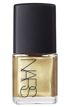 NARS nail polish —gold sparkle