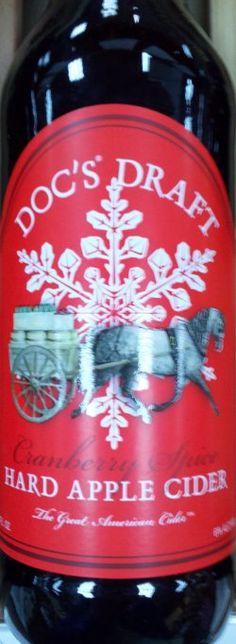 doc s draft cranberry spice hard apple cider more spice hard doc s ...