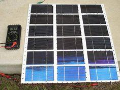 Do it yourself Solar Panels.