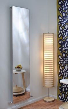 designer vertical radiators - Google Search