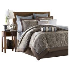 Bedding, Best Bed Sets Sale Online, View Bedding Sets Now: The Home Decorating Company Blue Comforter Sets, Queen Size Bedding, Duvet Sets, Duvet Cover Sets, Blue Duvet, King Comforter, Brown Bedding, Fluffy Comforter, Floral Comforter