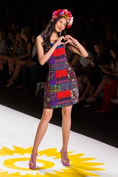 Desigual Collection presentation for Spring 2015 - New York Fashion Week - by Robert Essl - www.robertessl.com Spring 2015, New York Fashion, Presentation, Runway, Collections, Dresses, Cat Walk, Vestidos, Dress