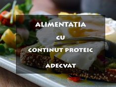 Cum sa ai o alimentatie cu un continut proteic adecvat Abdomen Plat, Sport, Desserts, Food, Tailgate Desserts, Deporte, Deserts, Excercise, Eten