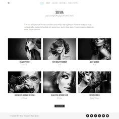 Silvia Free Photography WordPress Theme