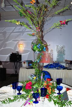 One of our tablescape from the Hampton Roads Bridal Show at Grand Affairs 7.31.13