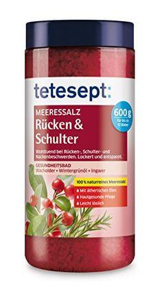 Tetesept Meeressalz Rücken & Schulter, 3er Pack (3 x 600 g) Tetesept