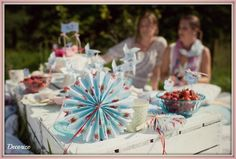 Sommerparty Picknick