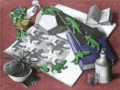 Reptiles Colour - M.C. Escher