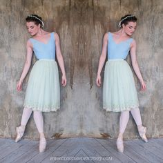 Our embroidered tulle skirt worn by Joy Womack. Pistachio green tulle with floral embroidery, Japanese satin lining and pearl button closure. Sewn in Singapore.