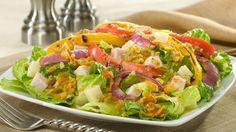 Get inspired with this authentic, flavorful Wish-Bone® recipe: Muffaletta Salad
